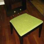 masivní židle s potahem